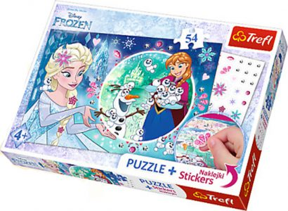 Trefl Puzzle 54 Pcs Magical Power Of Elsa 75115