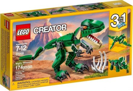 Lego Creator 3-in-1 Mighty Dinosaurs 31058