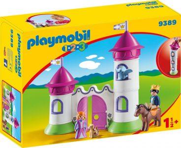 PLAYMOBIL 1-2-3 ΚΑΣΤΡΟ ΠΥΡΓΟΥΣ (9389)
