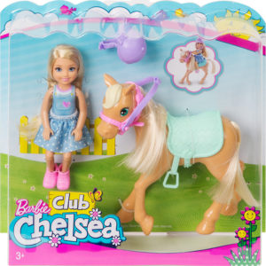 Mattel Barbie Τσέλσι & Πόνυ (DYL42)
