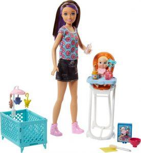 Mattel Barbie Σκίπερ Babysitter FHY98