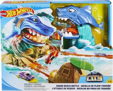 Mattel Hot Wheels Σετ Παιχνιδιού Μάχη Με Τον Καρχαρία (FNB21)