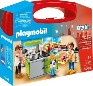 Playmobil City Life Βαλιτσάκι Μοντέρνα Κουζίνα (9543)