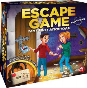 As – Επιτραπέζιο – Escape Game Μυστικη Αποστολη (1040-20199)