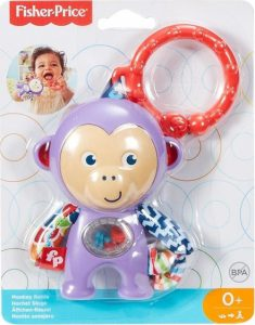 Fisher Price Monkey Rattle FFB64