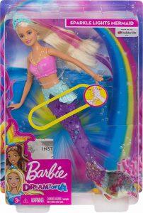 Mattel Barbie Γοργόνα Μαγική Ουρά (GFL82)