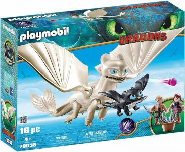 Playmobil Dragons – Η Λευκή Οργή Κι Ένας Δρακούλης Με Τα Παιδιά 70038