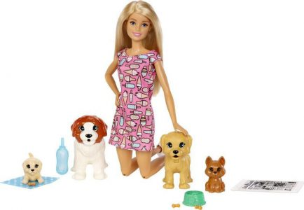 Mattel Barbie & Τα Σκυλάκια FXH08
