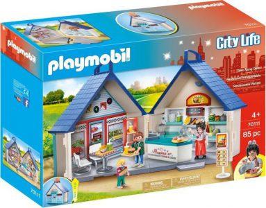 Playmobil City Life – Εστιατόριο Fast Food Βαλιτσάκι (70111)