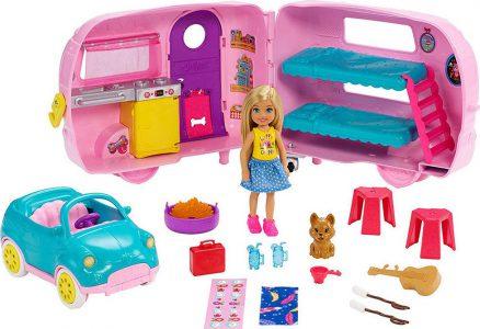 Mattel Barbie Τσέλσι-Τροχόσπιτο (FXG90)
