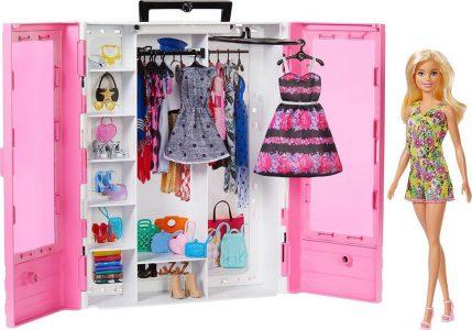 Mattel Barbie Fashionistas Η Ντουλάπα Της Barbie GBK12