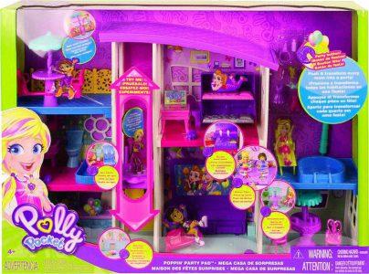 Mattel Polly Pocket Το Σπίτι Της Polly (GFR12)