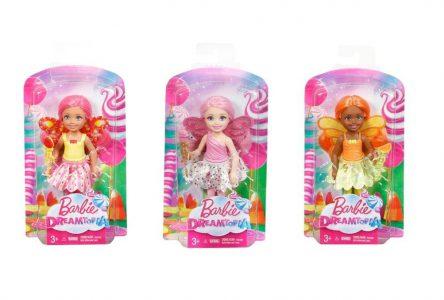 Mattel Barbie Τσέλσι Νεράιδες-3 Σχέδια (DVM87)