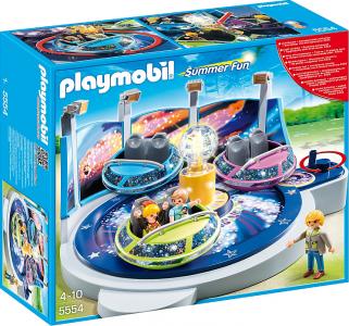 Playmobil Περιστρεφόμενα Space Ships με Φώτα Δώρο το Μοτέρ 5554