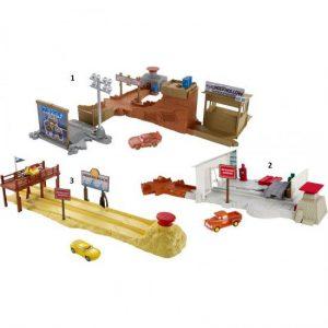 Mattel Cars 3 Σετ Παιχνιδιού-3 Σχέδια (DVT46)
