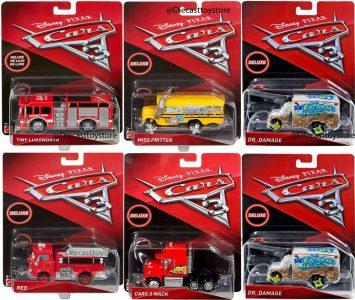 MATTEL CARS 3 ΟΧΗΜΑΤΑΚΙΑ OVERSIZED – 5 Σχέδια (DXV90)