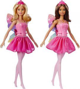 Mattel Barbie Νεράιδα Μπαλαρίνα-2 Σχέδια (FWK85)