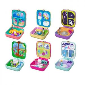 Mattel Polly Pocket Μίνι Δώρο Έκπληξη-6 Σχέδια (GDK76)