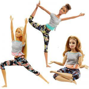 Mattel Barbie Beauty Αμέτρητες Κινήσεις – 3 Σχέδια FTG80