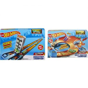 Mattel Hot Wheels Αγωνιστικές Πίστες-3 Σχέδια (GBF81)