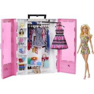 Mattel Barbie – Fashionistas Η Ντουλάπα Της Barbie Με Κούκλα GBK12
