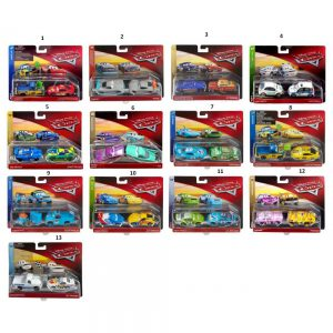 Mattel CARS 3 ΑΥΤΟΚΙΝΗΤΑΚΙΑ ΣΕΤ ΤΩΝ 2 – 12 ΣΧΕΔΙΑ (DXV99)