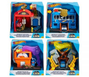 Mattel Hot Wheels Βασικές Πίστες City-6 Σχέδια (FRH28)