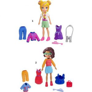 Mattel Polly Pocket Κούκλα Με Ρούχα-3 Σχέδια (GDM01)