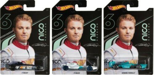Mattel Hot Wheels Αυτοκινητάκια Nico 3/3 (GGC34)