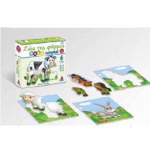 Desyllas Games – Puzzle Ζώα Φάρμας 100427
