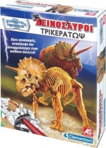 As Company Μαθαίνω & Δημιουργώ Δεινόσαυροι Τρικεράτωψ 1026-63104