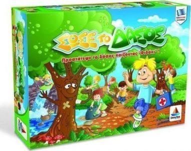 Desyllas Games – Επιτραπέζιο – Σώσε το Δάσος (Φιδάκι) 100524