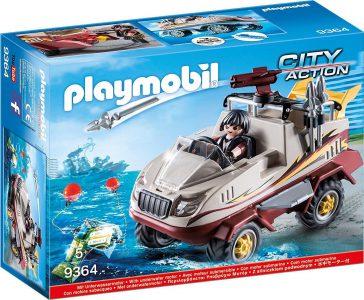 Playmobil City Action Αμφίβιο Όχημα Ομάδας Ειδικών Αποστολών (9364)