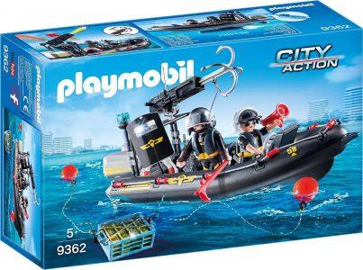 Playmobil City Action – Ταχύπλοο Ομάδας Ειδικών Αποστολών 9362