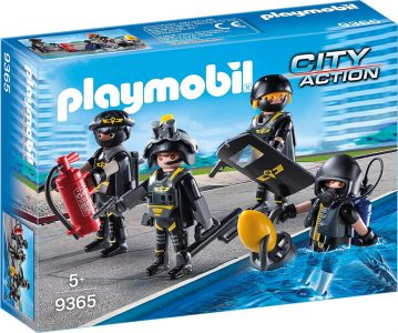Playmobil City Action Ομάδα Ειδικών Αποστολών (9365)
