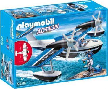 Playmobil Action – Αστυνομικό Υδροπλάνο 9436