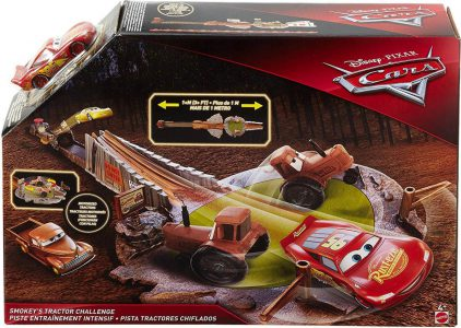 Mattel CARS ΠΙΣΤΑ ΤΟΥ SMOKEY (FLK03)