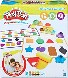 Playdoh Χρώματα & Σχήματα (B3404)