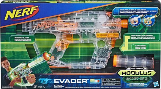 HASBRO NERF MODULUS GHOST OPS EVADER (E0733)