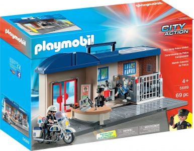 Playmobil City Action – Βαλιτσάκι Αστυνομικό Τμήμα 5689