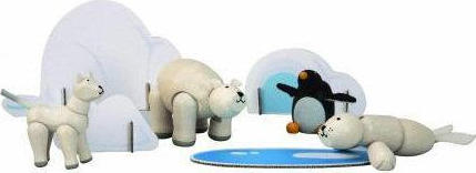 Plan Toys Planimal Polar Series 6121