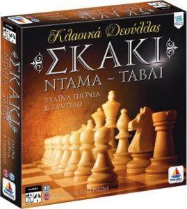 Desyllas Games – Επιτραπέζιο – Σκάκι – Ντάμα – Τάβλι (100735)