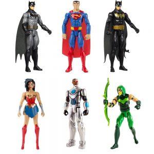 Mattel Justice League Action Φιγούρες 30cm-3 Σχέδια (FBR02)