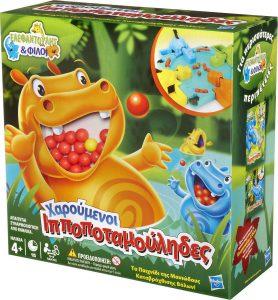 Hasbro – Επιτραπέζιο – Χαρούμενοι Ιπποποταμούληδες (98936)