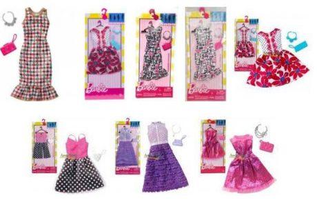 Mattel Barbie ΒΡΑΔΙΝΑ ΣΥΝΟΛΑ- 5 Σχέδια (FCT22)