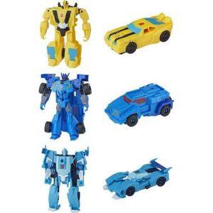 Hasbro Transformers Cyberverse 1 Step (4 Σχέδια) E3522