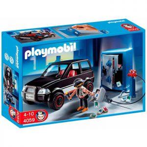Playmobil City Action Ληστής και όχημα διαφυγής (4059)