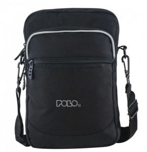 Polo – Τσαντάκι Ώμου EX-BAG Χιαστό Μαύρο 9-07-117-02