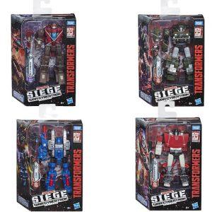 Hasbro – Transformers – Generations War For Cybertron Deluxe – 2 Σχέδια E3432