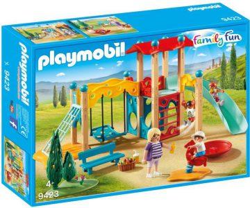 PLAYMOBIL FAMILY FUN ΥΠΑΙΘΡΙΟΣ ΠΑΙΔΟΤΟΠΟΣ (9423)
